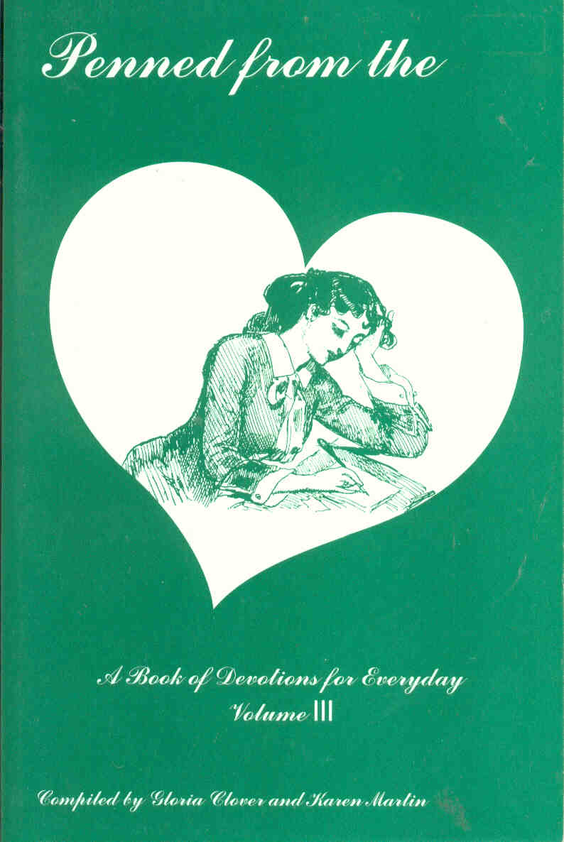 Cover of Penned From the Heart, vol. iii